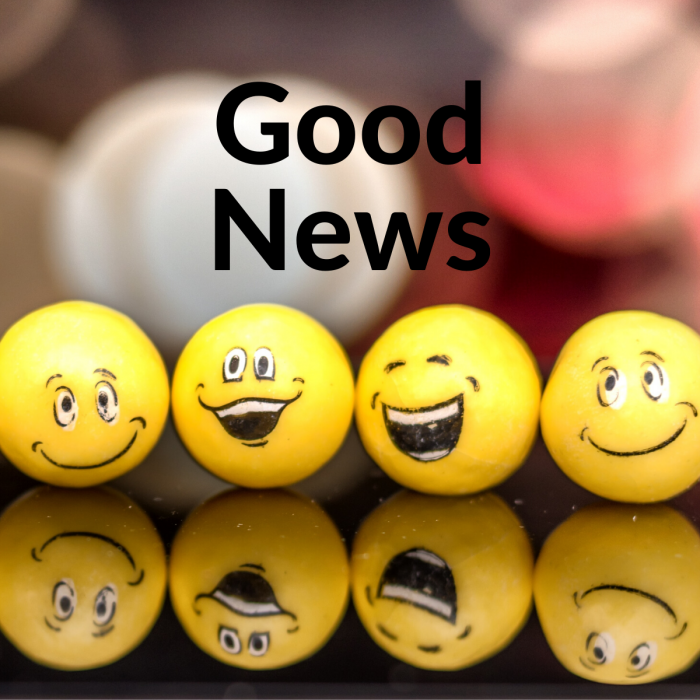 New Feature: Goodnews feed
