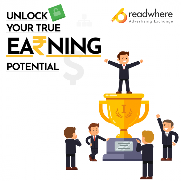 Unlock your website's true earning potential with Readwhere AdExchange