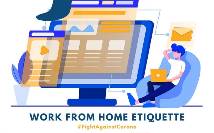 Fight against Corona: Work from home etiquettes for more efficiency