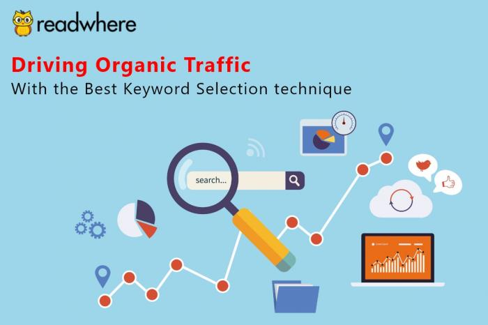 Efficient keyword selection technique to drive more traffic for your site
