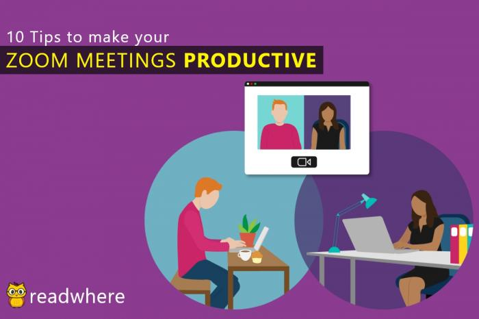 Top 10 zoom etiquettes for a productive meeting session