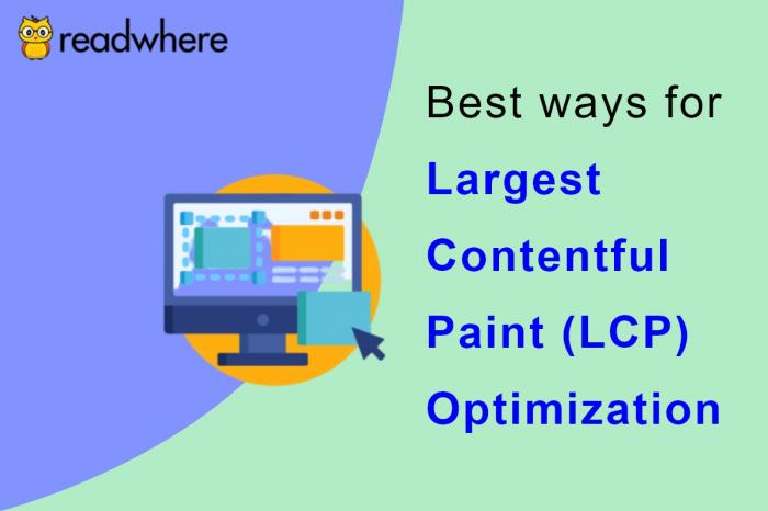 Optimizing Largest Contentful Paint (LCP) for faster loading and better user experience