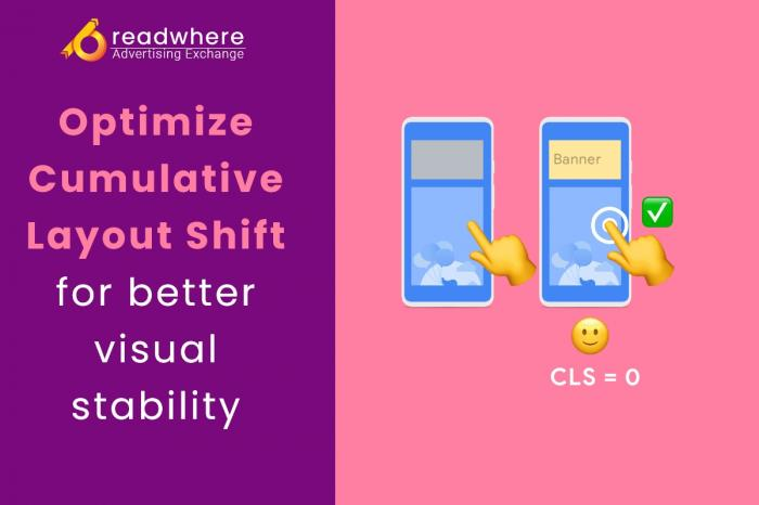 Optimize Cumulative Layout Shift for better visual stability