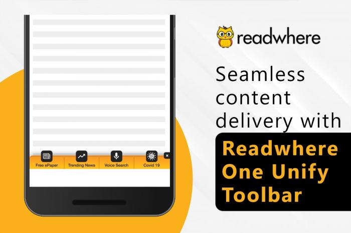 One Unify Toolbar- Engage and earn with seamless content delivery