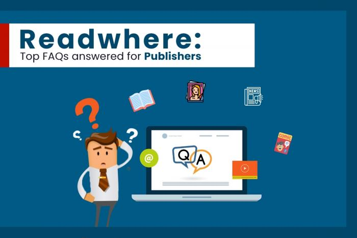 Readwhere : Crystal-clear answers to top FAQs by publishers