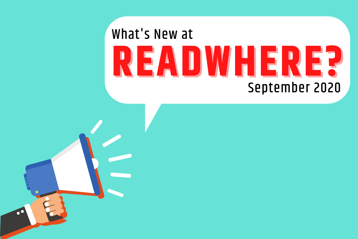Latest Features and Onboardings at Readwhere: September 2020