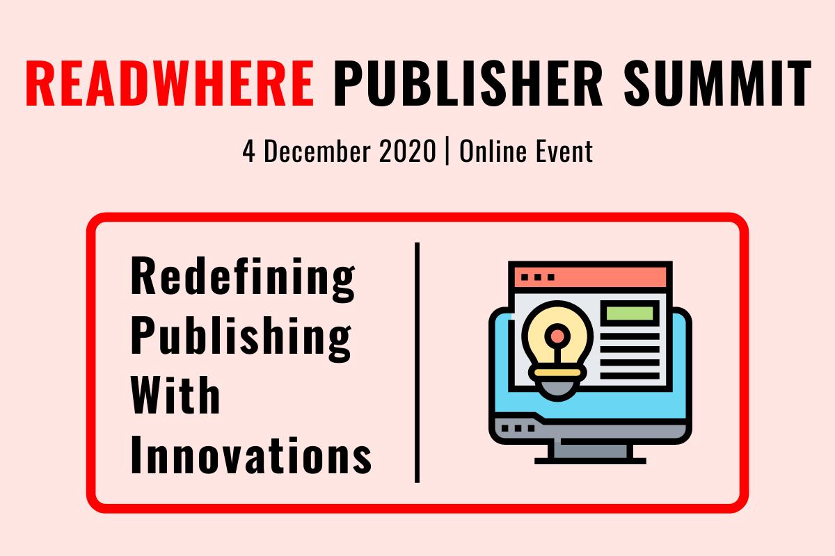 Readwhere Publisher Summit 2020: Online Edition