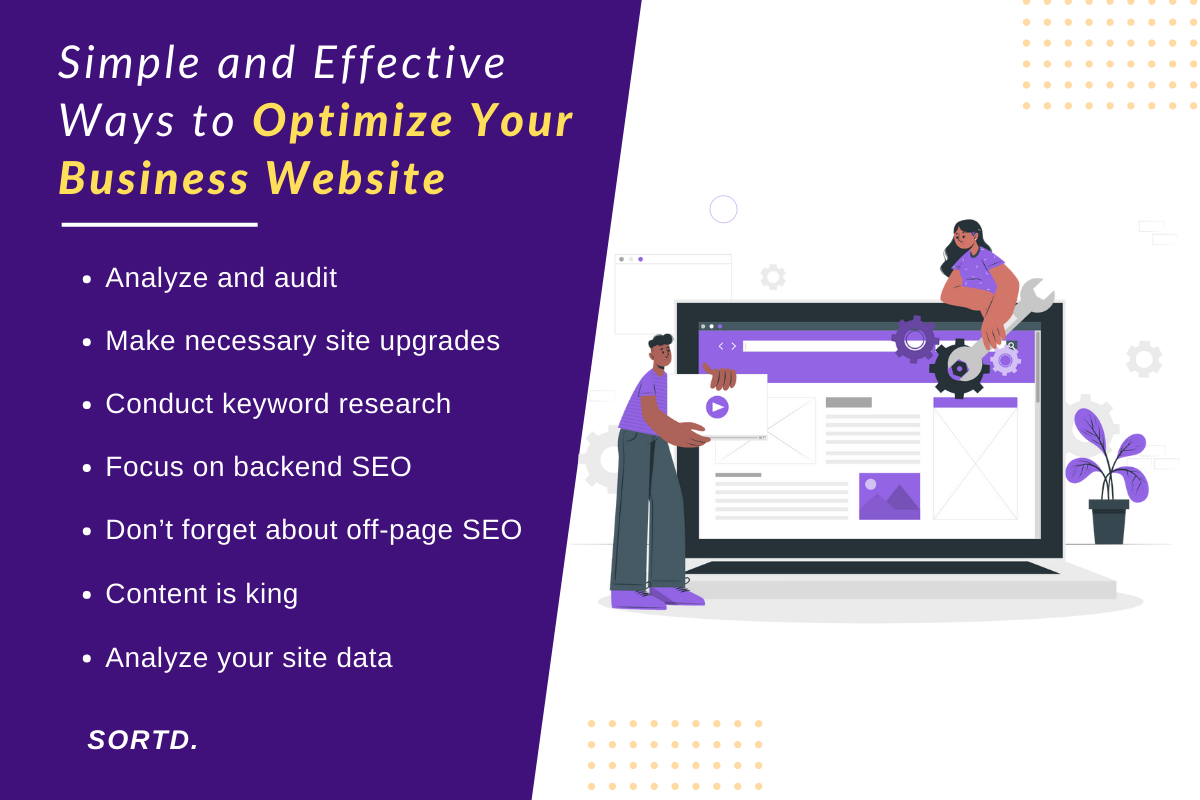 Simple and Effective Ways to Optimize Your Business Website